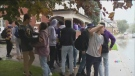 University students gather for homecoming weekend