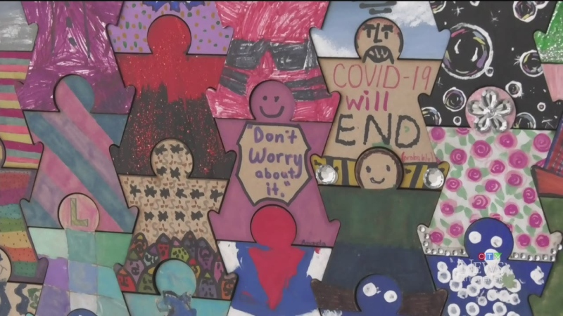 Local mural connects residents during pandemic