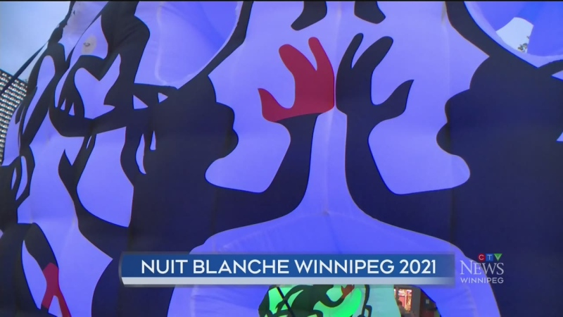Nuit Blanche back with inflatable display