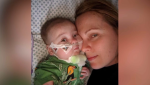 Rayan Sebastian Krstovic was born prematurely in Riga, Latvia, with severe heart and stomach problems that doctors didn't expect him to survive. (Alexander Krstovic)