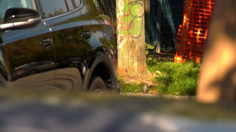 Possible explosive found near Commercial Drive
