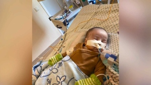 B.C. family hopes to bring infant son home