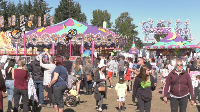 Luxton fair returns