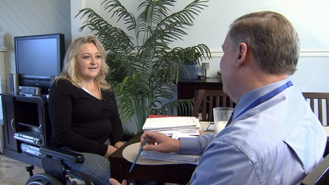 Leah Amey was concerned about possible changes to her Fido long distance plan. November 25, 2009. (CTV)
