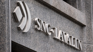 The SNC-Lavalin headquarters is seen in Montreal on February 12, 2019. THE CANADIAN PRESS/Paul Chiasson