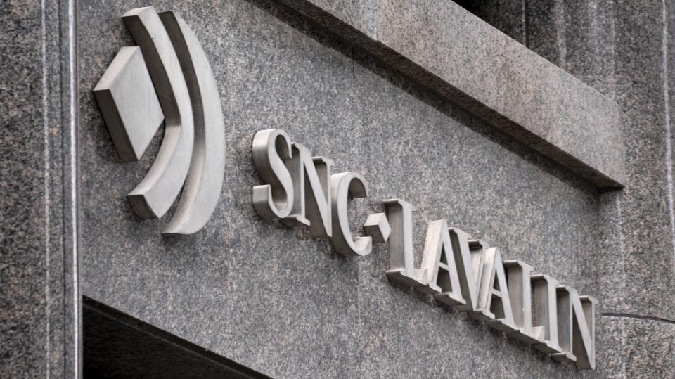 SNC-Lavalin sign
