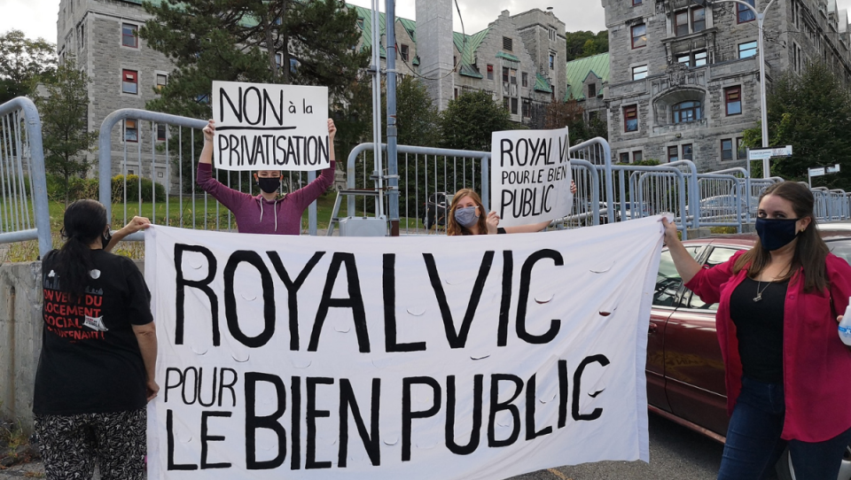 Coalition wants the Royal Vic to remain public
