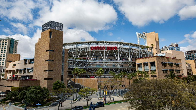 Petco Park is pictured in San Diego, California. (Daniel Knighton/Getty Images/CNN)