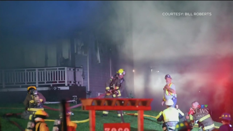 Fire displaces family of fire in Kings County, N.S.