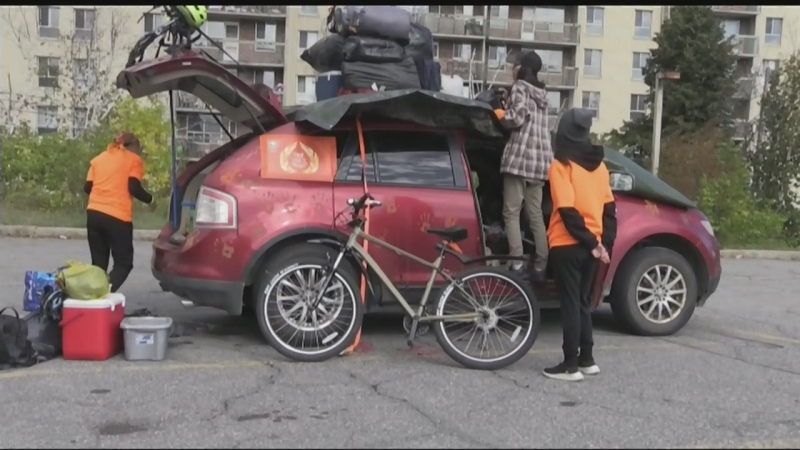 'Honouring Our Children' bike ride through Sudbury