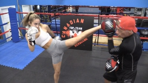 Barrie teen to be in Kickboxing World Championship