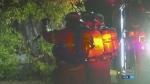 Fire damages Ritchie apartment complex