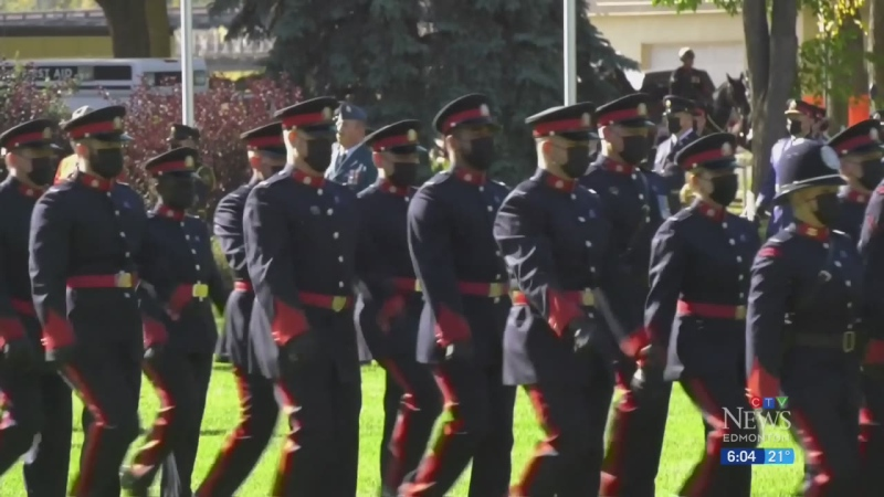 Memorial honours police and peace officers