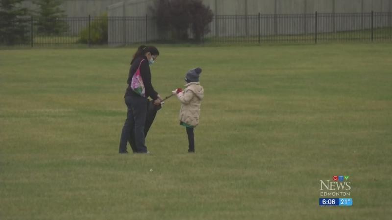 Ismaili community tidies up Edmonton park