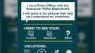 A new Vancouver Police Department initiative aims to improve communication between police and people who are deaf and hard of hearing. (Vancouver Police Department)