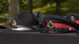 Canadian Police and Peace Officers Memorial Day. Sunday Sept. 26, 2021 (CTV News Edmonton)
