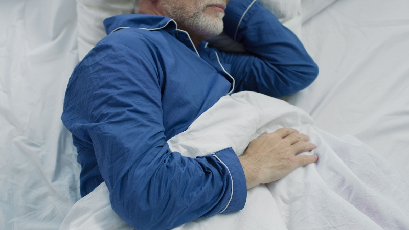 Sleeping for too little or too much time could have varying effects on older adults' brain health, a study suggests. (Shutterstock via CNN)