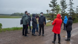 About 50 people from the community of Debert, N.S., turned out to meet investigators from the commission of inquiry investigating the mass killing that claimed 22 lives in the central and northern parts of Nova Scotia last year.