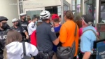 Assault charges laid after anti-vaccine protest in