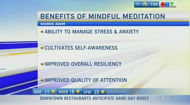 Living Well: Discovering benefits of meditation