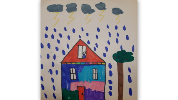 Ariya G., 8 years old, Grade 4, St. Kateri Tekakwitha School in Orleans