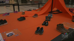 Mall creating Truth and Reconciliation display