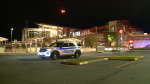 Ottawa police say several youths were arrested and two replica guns were seized near the Blair transit station on Friday, Sept. 24, after someone reporting seeing a person with a gun. (Aaron Reid/CTV News Ottawa)
