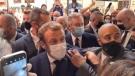 Egg thrown at French President Macron