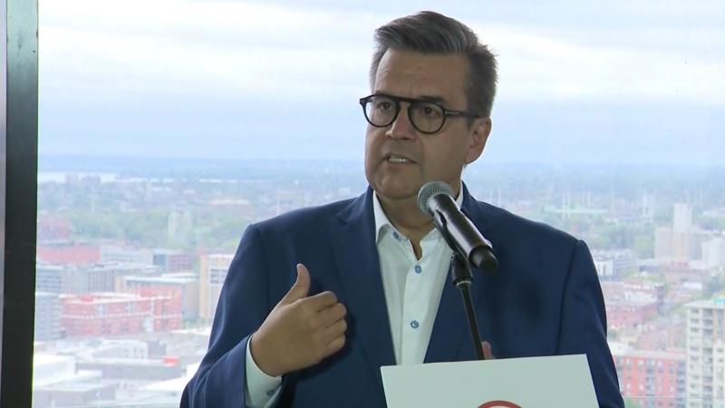 Montreal mayoral hopeful Denis Coderre