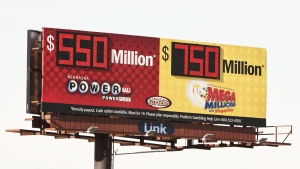 It was a phone call that came out of the blue. An Ontario man was told he had won $3.5 million in a lottery he never entered. (The Canadian Press)