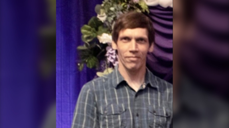 Shawn Wiebe is shown in a photo provided by Saskatoon Police Service.