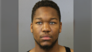 Repentigny police are looking for 26-year-old Jeffrey Dimundu-Bellevue who is suspected of shooting a 34-year-old man on Sunday, Sept. 26, 2021. SOURCE: Repentigny Police