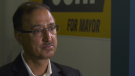 Amarjeet Sohi, a former city councillor and member of parliament, speaks to CTV News Edmonton during his campaign to become Edmonton's next mayor.