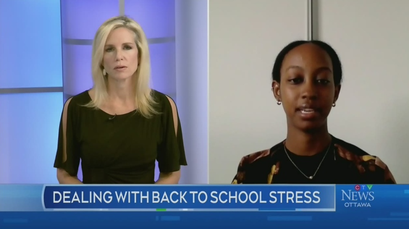 Handling back to school stress