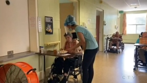 The president of the New Brunswick Council of Nursing Home Unions, which represents 51 of 70 nursing homes in the province, says several locations across the province have been operating with 50 per cent of their staff or less, which doesn't allow them to prioritize those in their care.