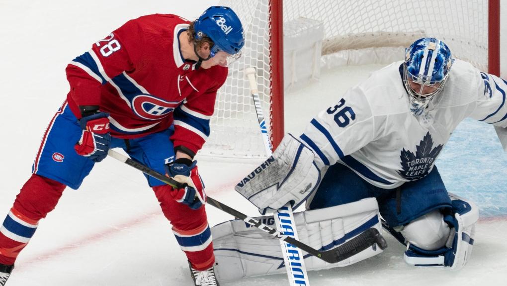 Montreal Canadiens' Christian Dvorak