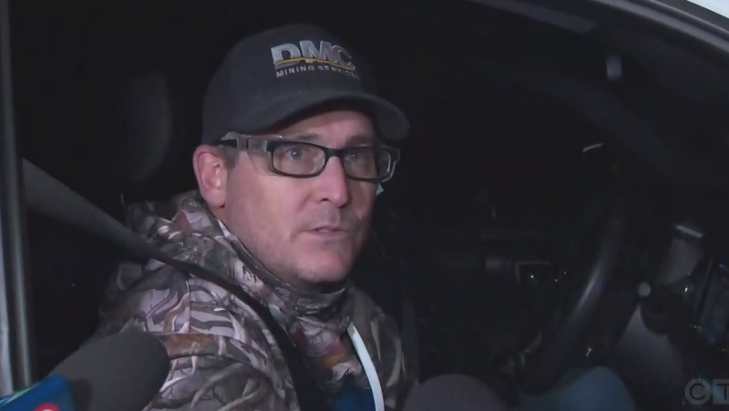 Rescued miner speaks about ordeal