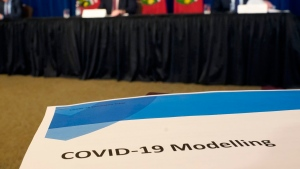 A media briefing on COVID-19 provincial modelling in Toronto, Friday, April 3, 2020. THE CANADIAN PRESS/Frank Gunn