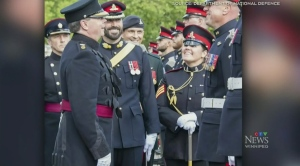 Canadian troops to serve as Queen's guard in U.K.