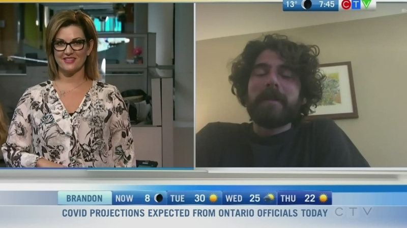 Manitoba musician Gil Carroll releases a new single and is getting ready to go on tour in Eastern Canada. Rachel Lagacé has more.