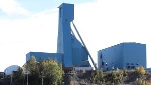 The Totten Mine near Sudbury, Ont., is shown on Monday, Sept. 27, 2021.