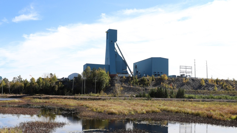 The Totten Mine near Sudbury, Ont., is shown on Monday, Sept. 27, 2021. THE CANADIAN PRESS/Gino Donato