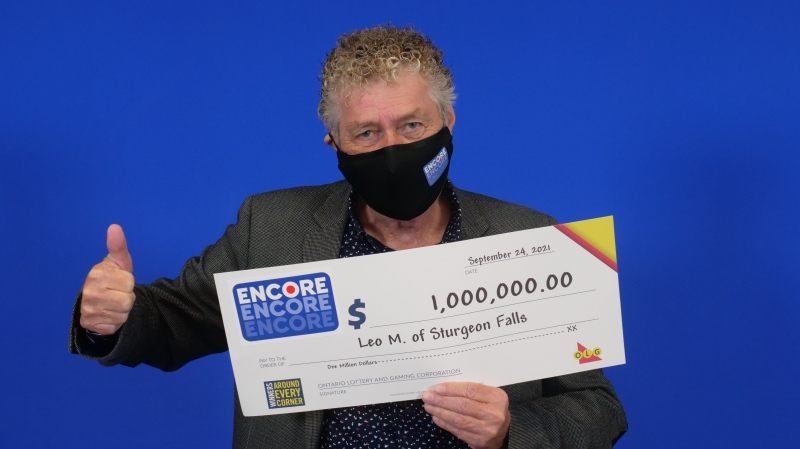 Leo Malette, a 76-year-old city coucillor from West Nipissing, has won his second big lottery prize playing Encore. (OLG)