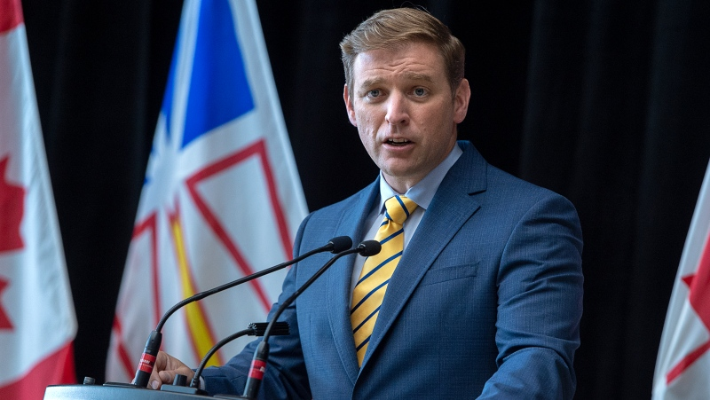 The Newfoundland and Labrador government is expected to release details today about its planned vaccination passport system. THE CANADIAN PRESS/Andrew Vaughan