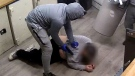 Video of violent 'million dollar heist' released