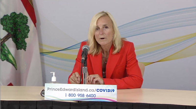 """""""Since August, 87 per cent of the cases in P.E.I. have been identified as the Delta variant,"""" said Dr. Heather Morrison, P.E.I.'s Chief Public Health Officer, during Tuesday's news update."""