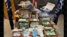 Montreal police said they seized 246,000 amphetamine pills, 23,000 Xanax tablets, 11,500 speed pills, 2,500 fentanyl pills and various quantities of other drugs, including morphine, crystal meth, cocaine, heroin, cannabis, magic mushrooms, and Cialis. (Source: Montreal police handout)