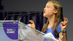 Greta Thunberg once again took aim at the world's leaders over climate inaction, this time during a Youth4Climate meeting in Milan.
