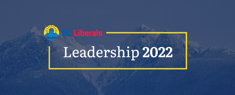 BC Liberal Leadership banner -- from BC Liberals website