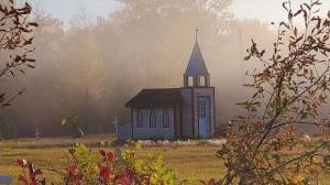 Little church in Wabowden. Photo by Lisa Wowchuk.